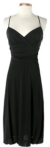 David Meister Sleeveless Wrap Dress