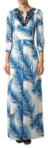 Maxi Dress by Tory Burch Baltic Sea