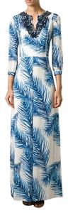 Maxi Dress by Tory Burch Baltic Sea Maxi