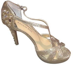 Gianni Bini gold sparkle Formal