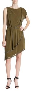 Haute Hippie Silk Large Green Free Dress