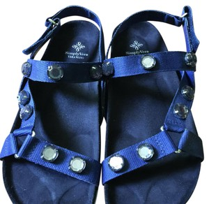 Vera Wang Navy blue Sandals