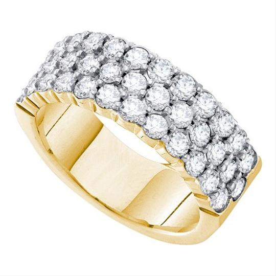 White Gold | Diamond Ladies Luxury Designer 14k 1.00 Cttw Accu Set Fashion Women's Wedding Band