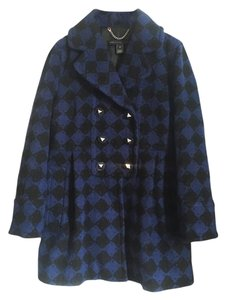 Marc by Marc Jacobs Designer Double Breasted Wool Pea Coat