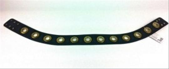 Deena & Ozzy Brown Belt with Gold Grommets