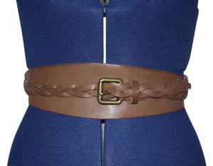 J.Crew J.Crew Leather braided Belt