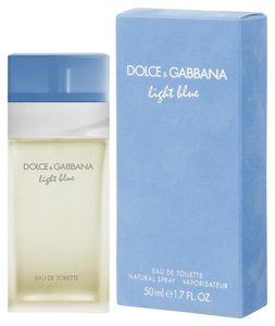Dolce&Gabbana LIGHT BLUE by DOLCE & GABBANA Eau de Toilette Spray ~ 1.7 oz 50 ml