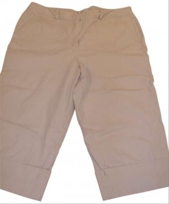 Dress Barn Capris Khaki