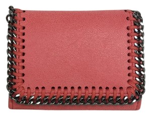 Stella McCartney Falabella Shaggy Deer Bi-Fold Wallet