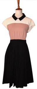 Kate Spade Colorblock Size 10 Black And White New York Dress