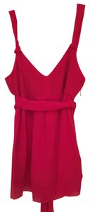 Tahari Top Raspberry