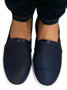 Soplayshoes Fashion Sneakers Blue Flats