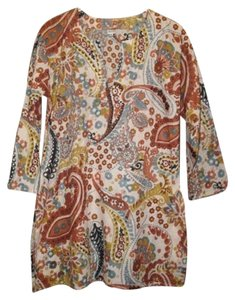 Other Print Cotton Floral Tory Burch Tunic