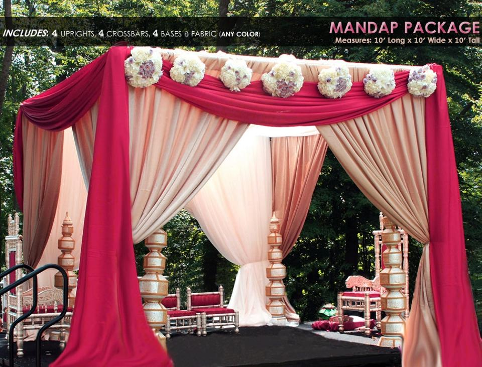 You Choose Drape Pipe Kit 10'x10'x10' R Colors Map Reception Banquet Party  Event Anniversary Decor Canopy/Chuppah - Tradesy