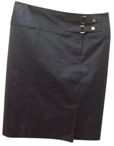 Lauren Ralph Lauren Pencil Casual Skirt Navy Blue