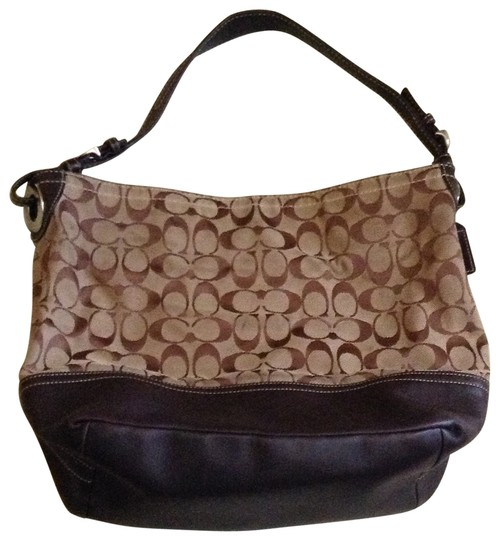 Preload https://item3.tradesy.com/images/coach-tan-and-brown-hobo-bag-168777-0-0.jpg?width=440&height=440