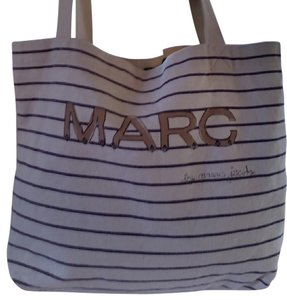 Marc Jacobs Tote in Cream, Blue, Gold