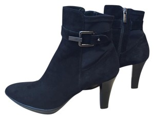 Aquatalia by Marvin K. Suede Bootie Black Boots