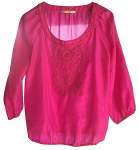 Trina Turk Top Fuschia, bright pink