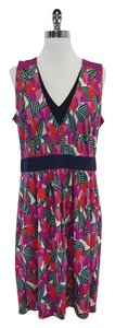 Tory Burch short dress Multi Color Floral Sleeveless on Tradesy