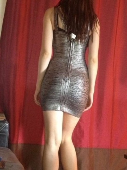 bebe Sexy Bandage Clubbing Going Cocktail Party Bodycon Dress