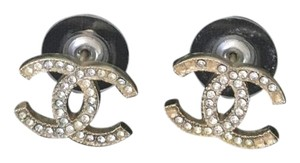 Chanel CHANEL CLASSIC CC LOGO EARRINGS