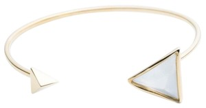 Alexis Bittar Faceted Pyramid Cuff Bracelet