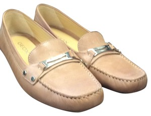 Geox Tan leather Flats