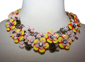 J.Crew J.CREW FUN FLORAL AND CRYSTAL NECKLACE