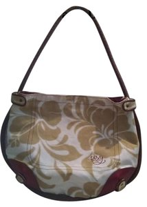 Roxy Beach Cotton Canvas Hobo Bag