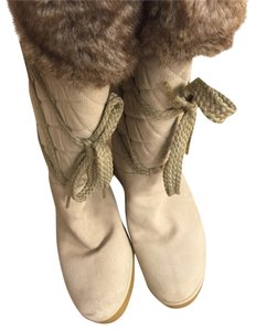 Marc Jacobs Cream Boots