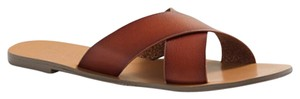 J.Crew Sandal Holiday Leather Tan/ Brown Sandals
