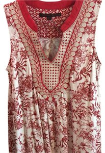Anthropologie Top Red