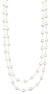 Bloomingdale's Pearl Double Station Necklace