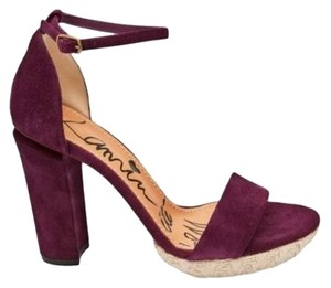 Lanvin Made In Italy Platform Purple Sandals