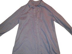 J. Jill Long Sleeve Medium Like New Price Includes Shipping Button Down Shirt lavender