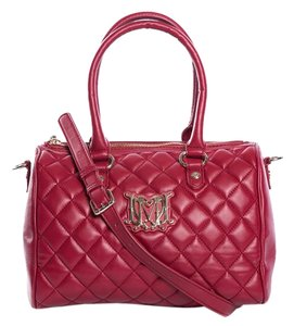 Love Moschino Satchel in Red
