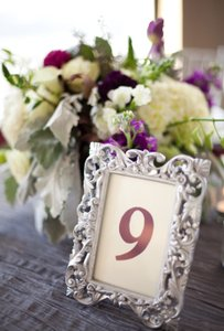 Set Of 14 Silver Photo Frames