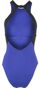 SeaFolly Seafolly Block Party Diamond Splice Maillot One-Piece Swimsuit