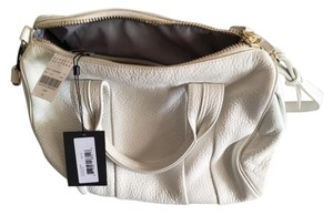 Alexander Wang Leather Satchel in White
