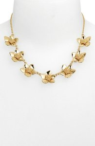 Kate Spade Kate Spade 14K Gold Plated Flowers Bloomspot Necklace NWT
