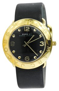 Marc by Marc Jacobs * Marc By Marc Jacobs Gold Tone Leather Watch