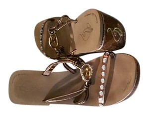 Baby Phat Gold like Sandals