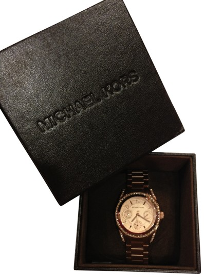 Preload https://img-static.tradesy.com/item/168829/michael-kors-rose-gold-blair-glitz-mk5613-watch-0-0-540-540.jpg