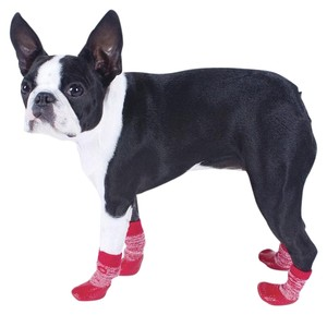 PAWS socks red XXS