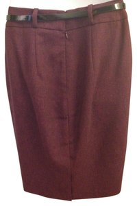 Mossimo Supply Co. Skirt burgundy