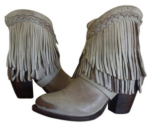 FreeBird By Steven Tonto Fringed Ankle Ice Boots