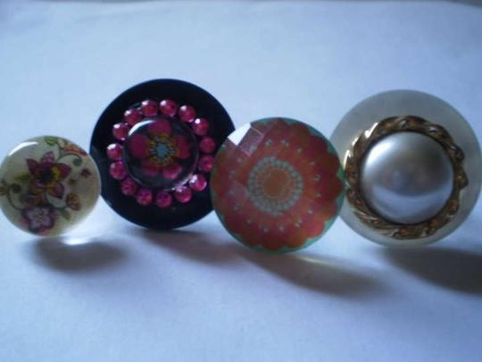 Other New 4 adjustable band rings