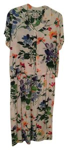 Multi floral print Maxi Dress by Jams World Sundress Cruisewear 2 Piece