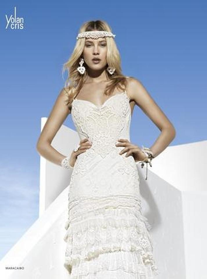 Off White Lace Guipure Crochet Maracaibo Beach Destination